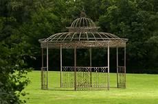 Luxus Pavillon Romantik Rund Metall Pavillion Garten Laube