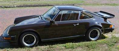 1978 911SC Factory Lightweight In Mocca Brown With Plaid