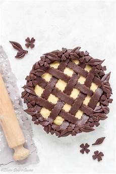 crostata al cacao con crema pasticcera crostata con frolla al cacao e crema pasticcera elvira dolci e cucina
