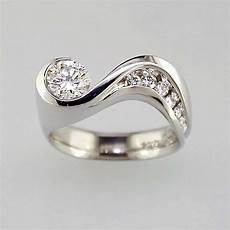 non traditional engagement rings jewelsmith innovative crafted fine jewelry