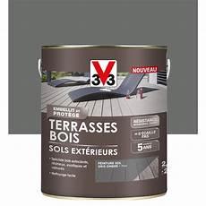 peinture pour exterieur peinture sol ext 233 rieur terrasse bois v33 gris ombr 233 2 5l
