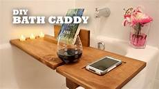 diy bath caddy youtube