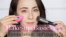 Make Up Richtig Auftragen - foundation richtig auftragen i methoden arten i make up