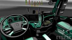 mercedes actros mp4 interior ets 2 mods
