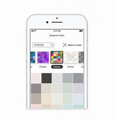 the home depot projectcolor app