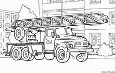 coloring page automatic rescue ladder