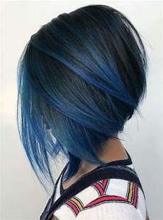 20 favorite blue ombre hair colors for short hair looks