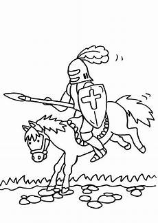 Ritter Malvorlagen Zum Ausdrucken Gratis Ausmalbild Ritter Kostenlose Malvorlage Ritterturnier