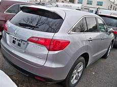export salvage 2013 acura rdx technology package silver