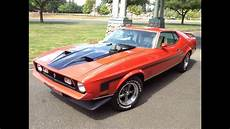1971 ford mustang mach 1 youtube