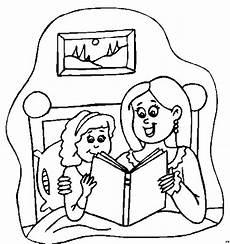 Malvorlagen Jugendstil Kostenlos Lesen Mutter Und Tochter Lesen Ausmalbild Malvorlage Kinder