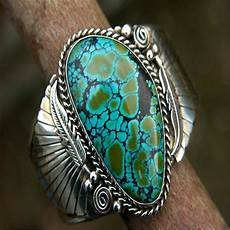 vintage blue stone rings for women wedding bohemia jewelry man ring antique silver ring bague