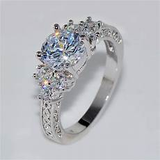 splendent white stone stylish jewelry men wedding