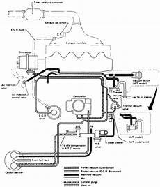 89 nissan sentra vacuum diagram 1987 nissan sentra vacuum diagram cabuator nissan auto wiring diagram