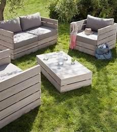 salon de jardin en palette en bois 10 id 233 es diy 224 r 233 aliser avec des palettes en bois salon