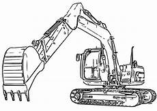 excavator coloring pages coloring pages for children