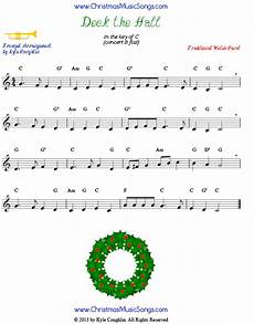 deck the halls for trumpet free sheet music