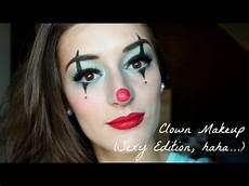 clown frau schminken clown makeup tutorial quot quot edition for