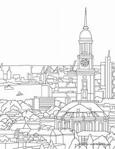 Malvorlagen Grundschule Berlin Hamburg Protestant Church Of St Michaelis Coloring Page