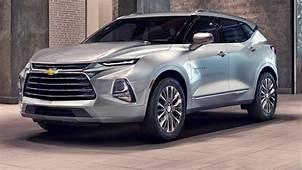Chevrolet Blazer 2021 New Generation Prices Data Sheet