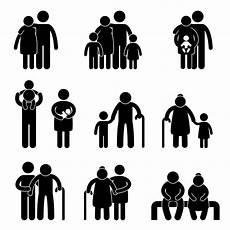 Familie Symbol - happy family icon sign symbol pictogram mentor center