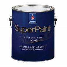 superpaint interior acrylic latex sherwin williams