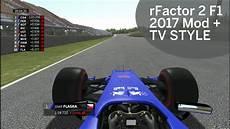F1 2017 Mods - rfactor 2 f1 2017 mod 2017 tv style