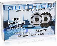 sm6q82 autotek sm6 5c sm65c 6 1 2 quot street machine series 2 way car