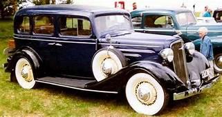 1934 Chevrolet Master Series DA Special Sedan  1931 To