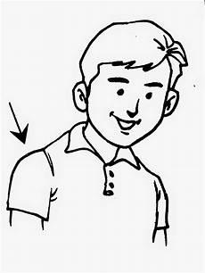 Dunia Sekolah Gambar Hitam Putih Drawing Aktiviti Manusia