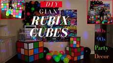 Decorations Diy by 80s 90s Decorations Diy Rubix Cubes