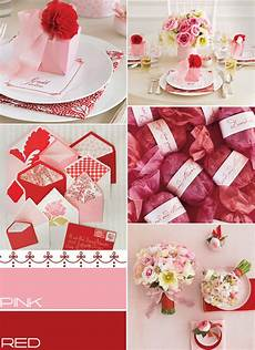 pink red wedding colours palette summer wedding colors ideas