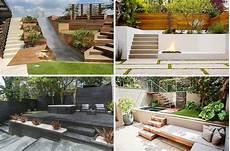 garten hanglage modern terrasse am hang praktisch und modern gestalten 10 tolle