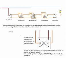 permutateur va et vient schema permutateur electrique