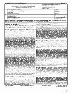 fda form 482 fillable online form fda 482 fax email print pdffiller