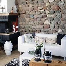 Deko Steinwand Innen - steinwand inspiration wohnideen bei