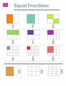 fraction practice equivalent fractions worksheet education com