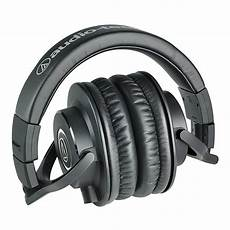 audio technica ath m40x professional monitor headphones at gear4music