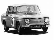 Fiche Technique Renault R8 Gordini 1100 Motorlegend