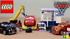 Lego Cars Smokeys Garage by Lego Juniors Cars 3 Smokey S Garage Playset Unboxing And