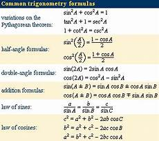 trigonometric equations formulas trigonometry definition formulas ratios identities britannica