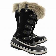 sorel s joan of arctic black winter boo softmoc