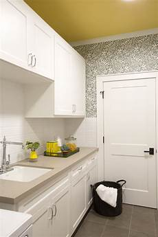 if you re doing laundry it might as well be in a fun spot wallpaper ab laundry room