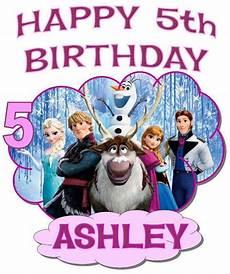 malvorlagen frozen happy birthday frozen happy birthday t shirt personalized any name age