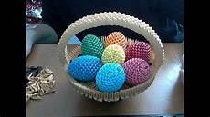 how to make 3d origami happy easter egg basket
