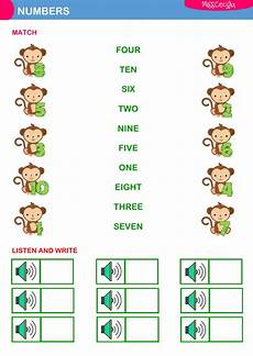 k1 worksheets 19345 numbers 1 to10 interactive worksheet