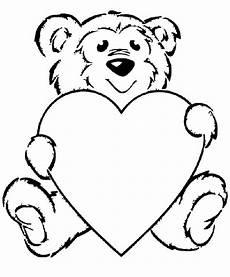 Malvorlagen Teddy Mit Herz Malvorlagen Fur Kinder Ausmalbilder Teddy Kostenlos
