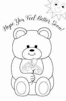 soon card templates printable get well cards for to color lovetoknow