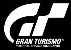 Gran Turismo Logo White On Black Gran Turismo Logo