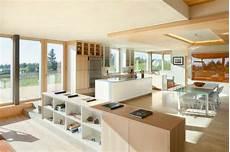Wohnzimmer Mit Offener Küche Modern - offene k 252 che grundriss